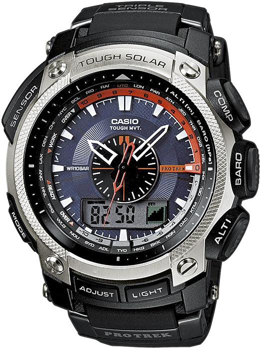 PRW-5000-1ER - zegarek męski - duże 3