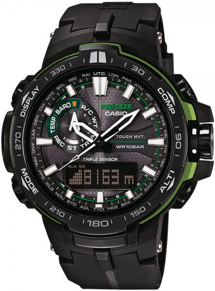 Zegarek męski Casio ProTrek protrek PRW-6000Y-1AER - duże 3