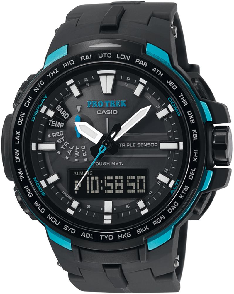 Zegarek Casio ProTrek PRW-6100Y-1AER - duże 1