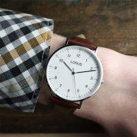 Zegarek męski Lorus klasyczne RH895BX9 - duże 2