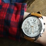 Zegarek męski Lorus klasyczne RT373CX9 - duże 6