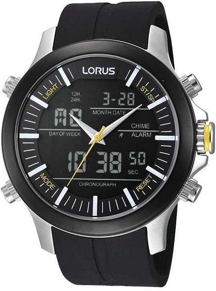 Zegarek męski Lorus sportowe RW605AX9 - duże 1