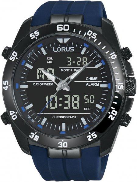 Zegarek męski Lorus sportowe RW631AX9 - duże 1