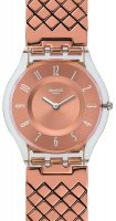 Zegarek damski Swatch skin classic SFE110GA - duże 1
