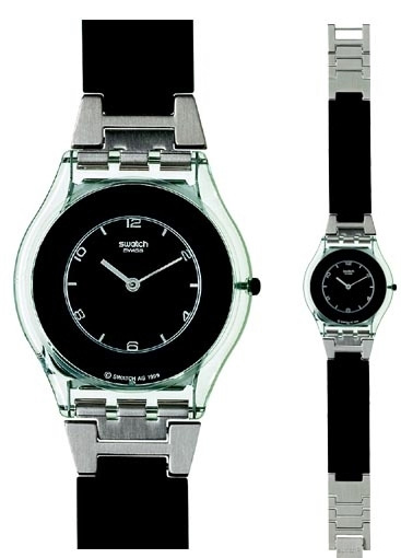 Swatch SFK116 Skin Classic Pure Black