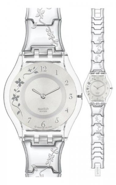 Zegarek damski Swatch skin classic SFK300G - duże 1
