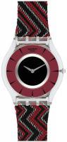 Zegarek damski Swatch skin classic SFK377 - duże 1