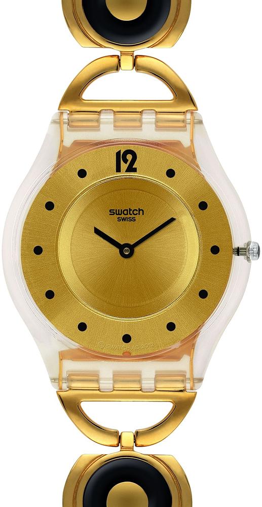 Zegarek damski Swatch skin SFW106G - duże 1