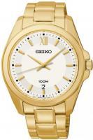 Zegarek męski Seiko classic SGEG64P1 - duże 1