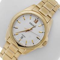 Zegarek męski Seiko classic SGEG64P1 - duże 2