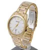 Zegarek męski Seiko classic SGEG64P1 - duże 3