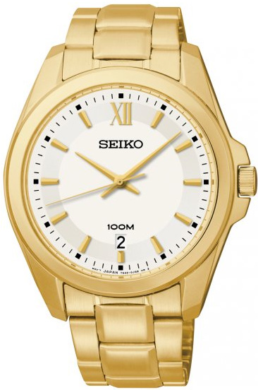 Zegarek Seiko SGEG64P1 - duże 1