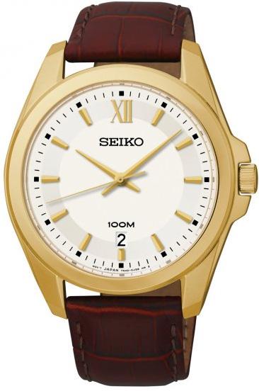 Zegarek męski Seiko classic SGEG64P2 - duże 1