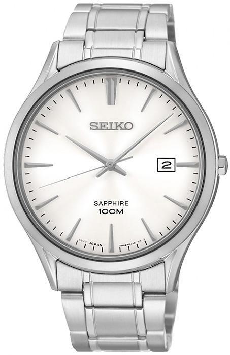 Zegarek męski Seiko classic SGEG93P1 - duże 1