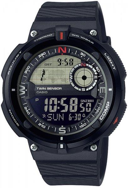 SGW-600H-1BER - zegarek męski - duże 3
