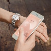 Zegarek damski Casio sheen SHB-200SG-7AER - duże 2