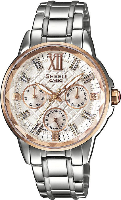 SHE-3029SG-7AUER - zegarek damski - duże 3