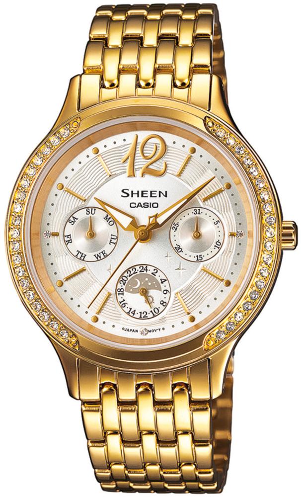 SHE-3030GD-7AUER - zegarek damski - duże 3