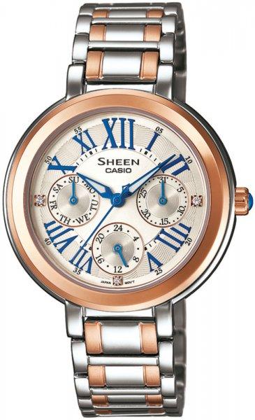 SHE-3034SG-7AUER - zegarek damski - duże 3