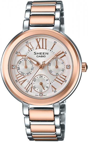 SHE-3034SPG-7AUEF - zegarek damski - duże 3