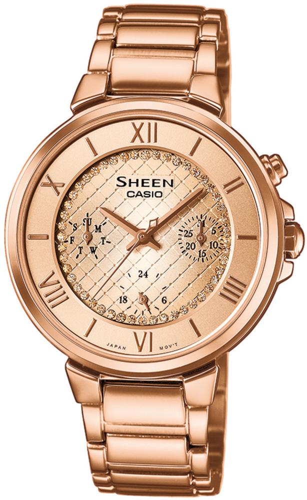 SHE-3040PG-9AUER - zegarek damski - duże 3