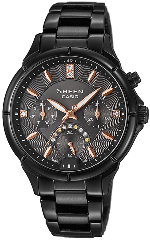 SHE-3047B-1AUER - zegarek damski - duże 3