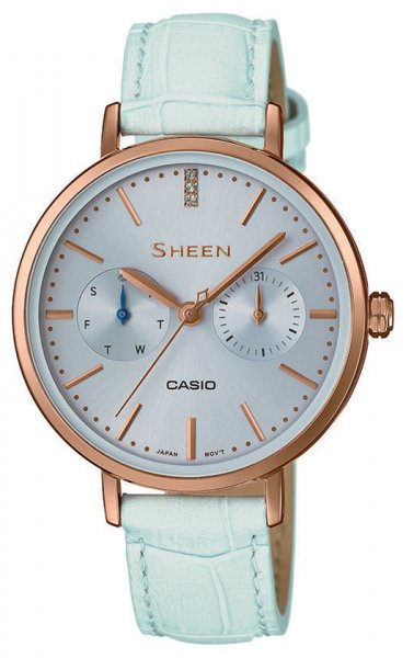 Zegarek Casio SHEEN SHE-3054PGL-2AUER - duże 1