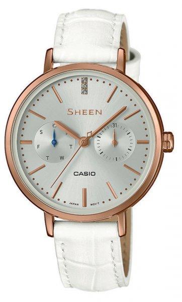 Zegarek damski Casio SHEEN sheen SHE-3054PGL-7AUER - duże 3