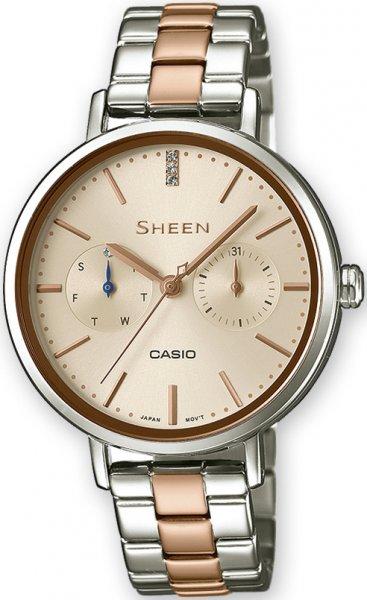 SHE-3054SPG-4AUER - zegarek damski - duże 3