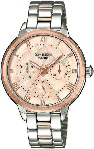SHE-3055SPG-4AUER - zegarek damski - duże 3