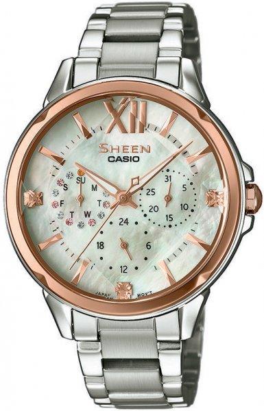 SHE-3056SG-7AUER - zegarek damski - duże 3