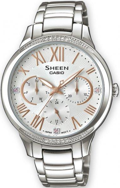 Zegarek Casio SHE-3058D-7AUER - duże 1