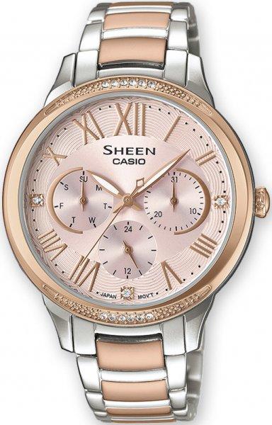 SHE-3058SPG-4AUER - zegarek damski - duże 3
