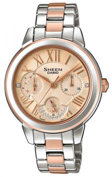 Zegarek Casio SHEEN SHE-3059SPG-9AUER - duże 1