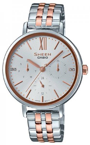 Zegarek Casio SHEEN SHE-3064SPG-7AUER - duże 1