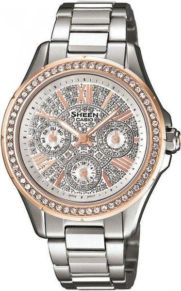SHE-3504SG-7AUER - zegarek damski - duże 3