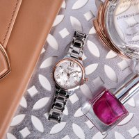 Zegarek damski Casio sheen SHE-3511SG-7AUER - duże 2