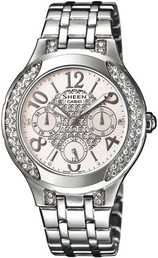 SHE-3803D-7AUER - zegarek damski - duże 3