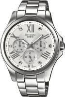 Zegarek damski Casio sheen SHE-3806D-7AUER - duże 1