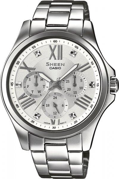 Zegarek Casio SHE-3806D-7AUER-POWYSTAWOWY - duże 1