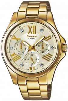 zegarek damski Casio Sheen SHE-3806GD-9AUER