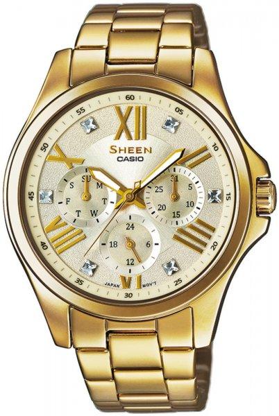 SHE-3806GD-9AUER - zegarek damski - duże 3