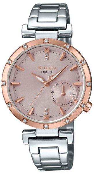 SHE-4051SG-4AUER - zegarek damski - duże 3