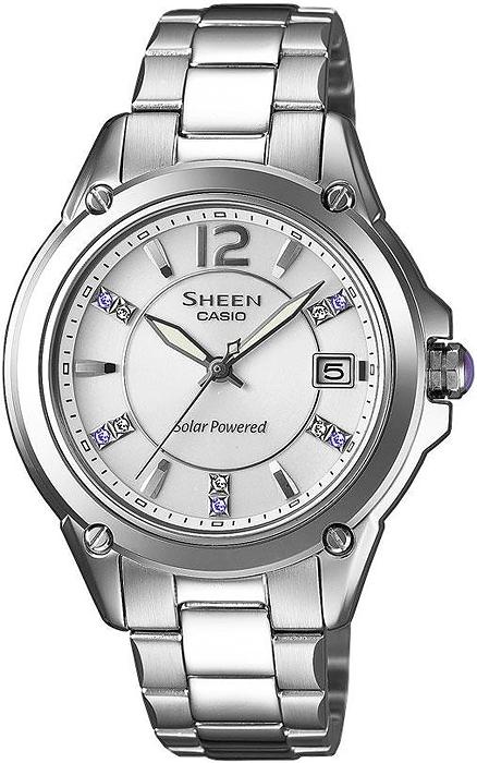 SHE-4508SBD-7AER - zegarek damski - duże 3