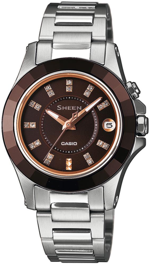 Zegarek damski Casio SHEEN sheen SHE-4509SG-5AER - duże 1