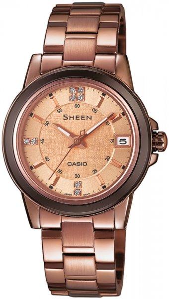 Zegarek Casio SHEEN SHE-4512BR-9AUER - duże 1