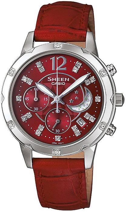 SHE-5017L-4AEF - zegarek damski - duże 3