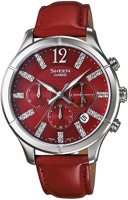 SHE-5020L-4AEF - zegarek damski - duże 3