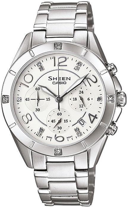SHE-5021D-7AEF - zegarek damski - duże 3