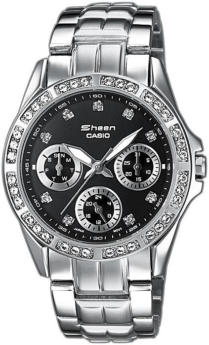 SHN-3013D-1AEF - zegarek damski - duże 3
